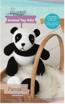 Passioknit-Animal-Toy-Kit-150g-Panda on sale