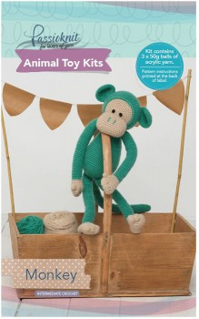 Passioknit-Animal-Toy-Kit-150g-Monkey on sale