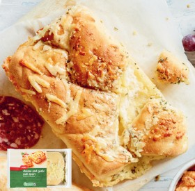 Coles-Cheese-Garlic-Pull-Apart-350g on sale