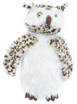 Harmony-Flattie-Owl-Dog-Toy on sale