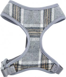 Harmony-Grey-Check-Dog-Harness on sale