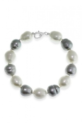 By-Fairfax-Roberts-Real-Baroque-Pearl-Bracelet on sale