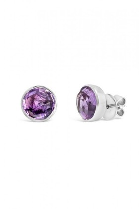 By-Fairfax-Roberts-Real-Gemstone-Stud-Earrings on sale