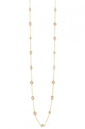 By-Fairfax-Roberts-Real-Gemstone-Long-Necklace on sale