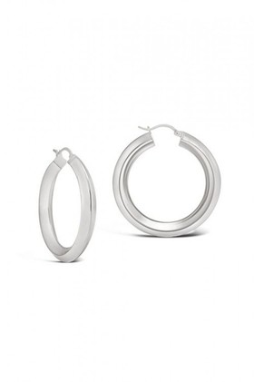 By-Fairfax-Roberts-Contemporary-Hoop-Earring on sale