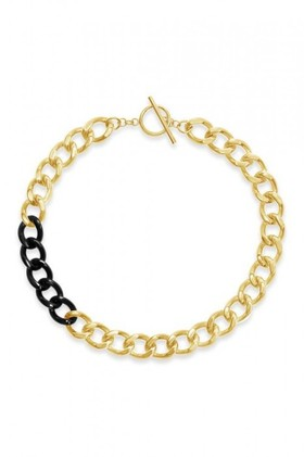 By-Fairfax-Roberts-Contemporary-Link-Short-Necklace on sale