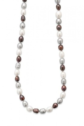 By-Fairfax-Roberts-Real-Baroque-Pearl-Long-Necklace on sale