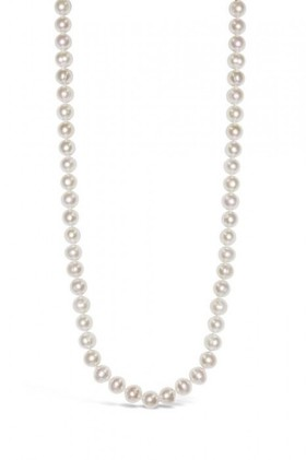 By-Fairfax-Roberts-Real-Everyday-Classic-Pearl-Long-Necklace on sale