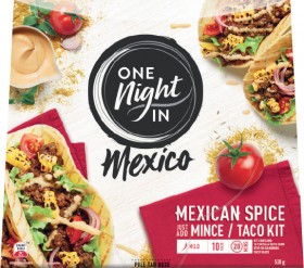 One-Night-in-Mexico-Mexican-Kit-435g-520g on sale