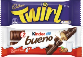 Cadbury-or-Kinder-Bueno-Bars-30g-60g on sale