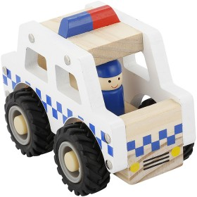 Wooden-Police-Car on sale