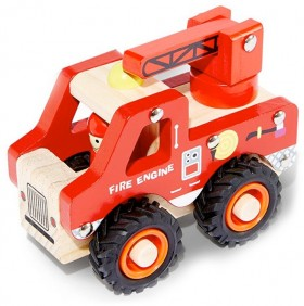 Wooden-Fire-Truck on sale
