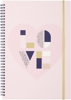 Love-A4-Notebook on sale