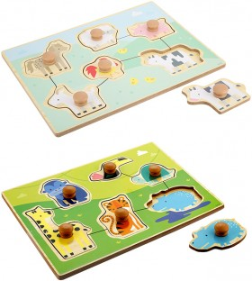 Small-Easy-Grip-Wooden-Puzzle on sale