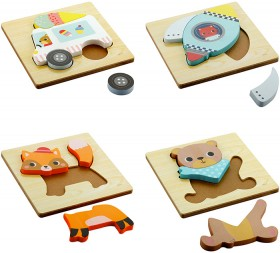 Wooden-3D-Puzzle on sale