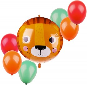 7-Piece-Lion-Foil-Balloon-Pack on sale