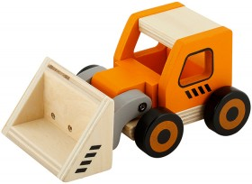 Wooden-Bulldozer on sale