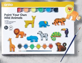 10-Pack-Paint-Your-Own-Wild-Animals-Plaster-Set on sale