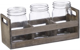 Floral-Container-Wooden-Tray-Set-of-3 on sale