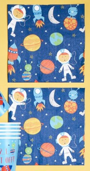 Spaceship-20-Pack-Paper-Napkin on sale