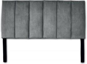 Grey-Velvet-QB-Bed-Head on sale