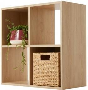 Oak-Look-4-Cube-Unit on sale