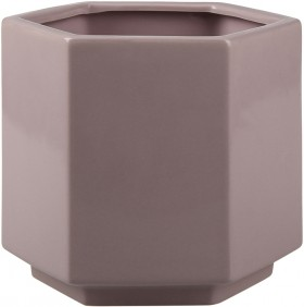 Lilac-Hex-Pot on sale