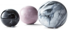 Set-of-3-Ceramic-Spheres on sale