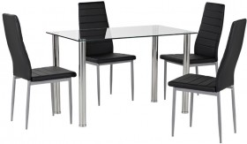 Zoe-5-Piece-Dining-Set-with-Zara-Chairs on sale
