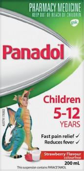 Panadol-Children-5-12-Years-200mL-Range on sale