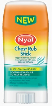 NEW-Nyal-Chest-Rub-Stick-40g on sale