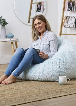 40-off-Living-Space-Dip-Dye-Faux-Fur-Bean-Bag-Cover on sale