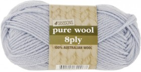 40-off-4-Seasons-Pure-Wool-Plains-8ply-50g on sale