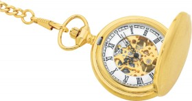 Elite-Mens-Double-Cover-Pocket-Watch-Box-Set on sale