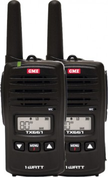 GME-TX667-1-Watt-UHF-Twin-Pack-Handheld-Radio on sale
