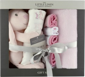 The-Little-Linen-Company-Bunny-Baby-Gift-Set on sale
