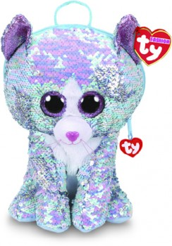 TY-Fashion-Whimsy-Cat-Sequin-Backpack on sale