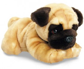 Korimco-Lil-Pups-Pug-Premium-Plush on sale
