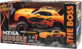 NEW-New-Bright-Radio-Control-110-Scale-Mega-Muscle-Car on sale