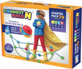 NEW-Connect-N-Build-79-Piece-Starter-Set on sale