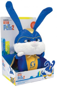NEW-Secret-Life-of-Pets-2-Super-Snowball-Pat-and-Chat-Plush on sale