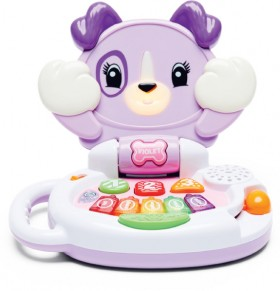 NEW-LeapFrog-Peek-A-Boo-LeapPup-Violet on sale