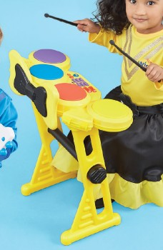 The-Wiggles-Drum-Kit on sale