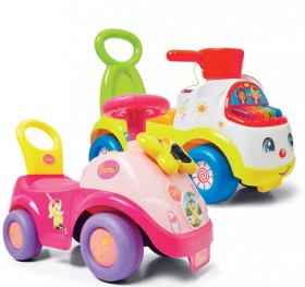 NEW-The-Wiggles-Emma-Light-Up-Bow-or-Fisher-Price-Music-Maker-Ride-Ons on sale