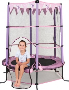 NEW-Action-Sports-4.5-Foot-Trampoline-Unicorn on sale