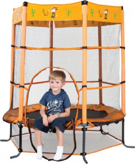 NEW-Action-Sports-4.5-Foot-Trampoline-Cowboy on sale