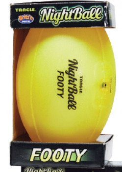 Wahu-Nightball-Pro-Sport-Ball-Yellow on sale