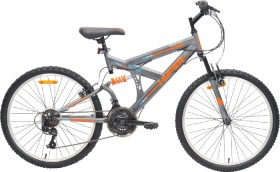 Hyper-Kids-60cm-Dual-Suspension-Mountain-Bike-Grey on sale