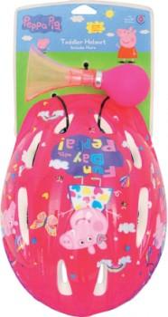 Peppa-Pig-Helmet-with-Bottle-or-Horn-Set on sale