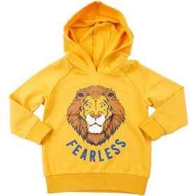 B-Collection-Novelty-Hoodie-Yellow on sale